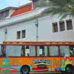Surabaya Shopping Culinary Track Tour Bus