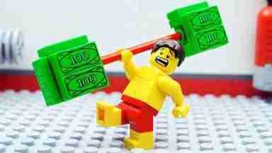 Inilah Cara Cari Uang dari Kepingan Lego - woke.id