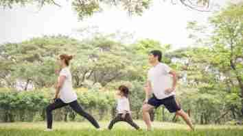 olahraga dengan anak