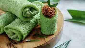 resep dadar gulung isi kelapa