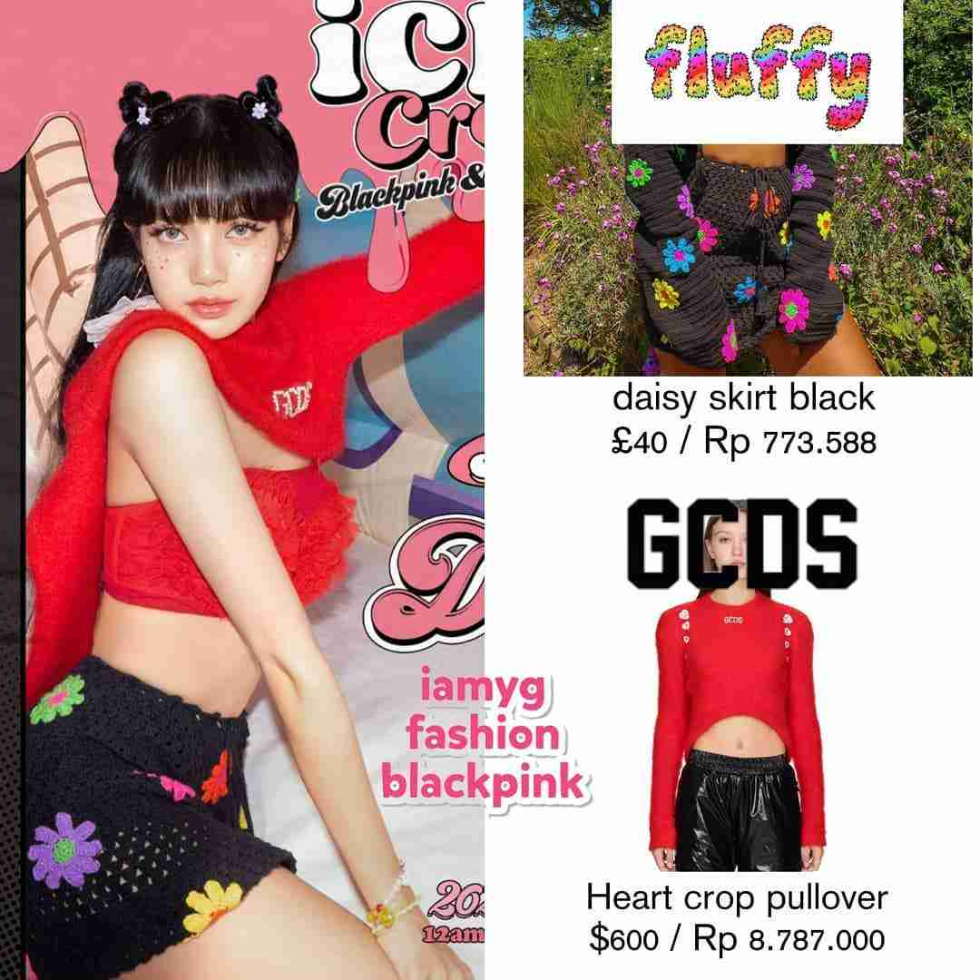 outfit blackpink ice cream