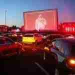 lokasi dan harga drive in bioskop mobil Jakarta skylight cinema, drive-in senja